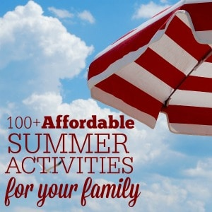 Everything you need for an enjoyable summer with your family.