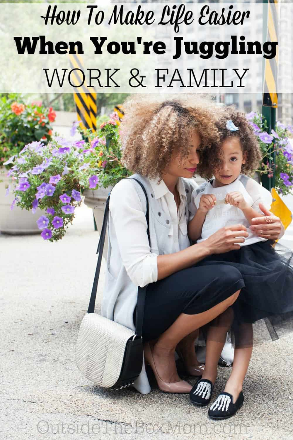 Are you about to return to work? Are you starting a new job, or trying to launch your own business? This post has six tips to make life easier when you're balancing work and family.