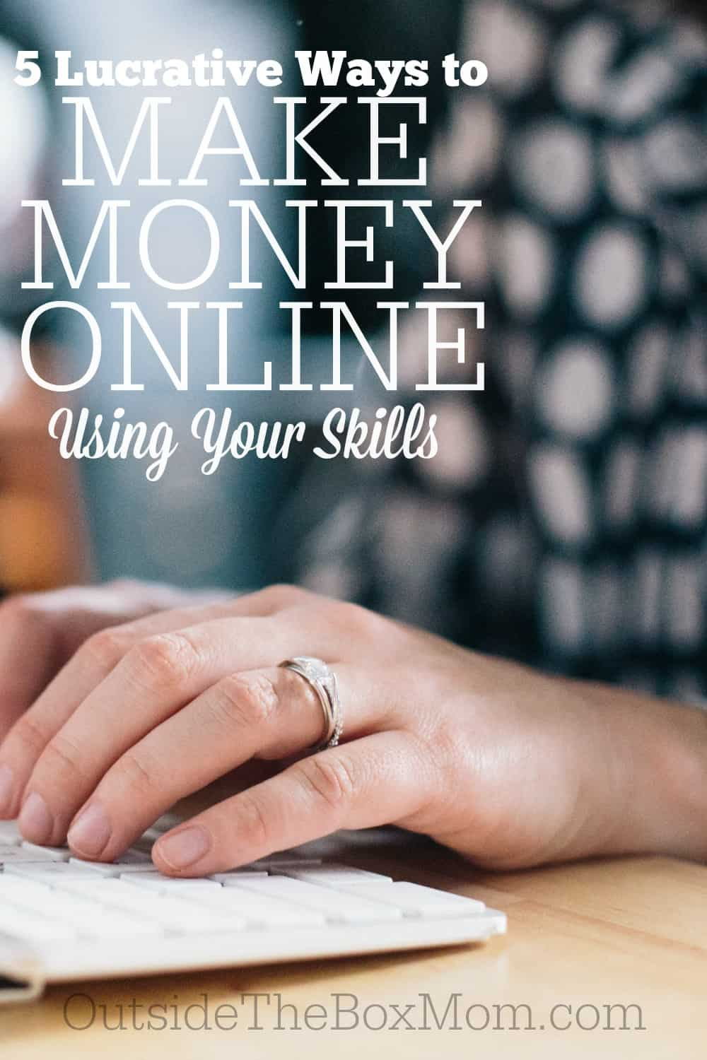 Are you looking for a way to earn some extra money? Did you do well in school, or on standardized tests? Here are more than five ways to make money online using your skills.