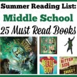 Summer Reading List: Middle School