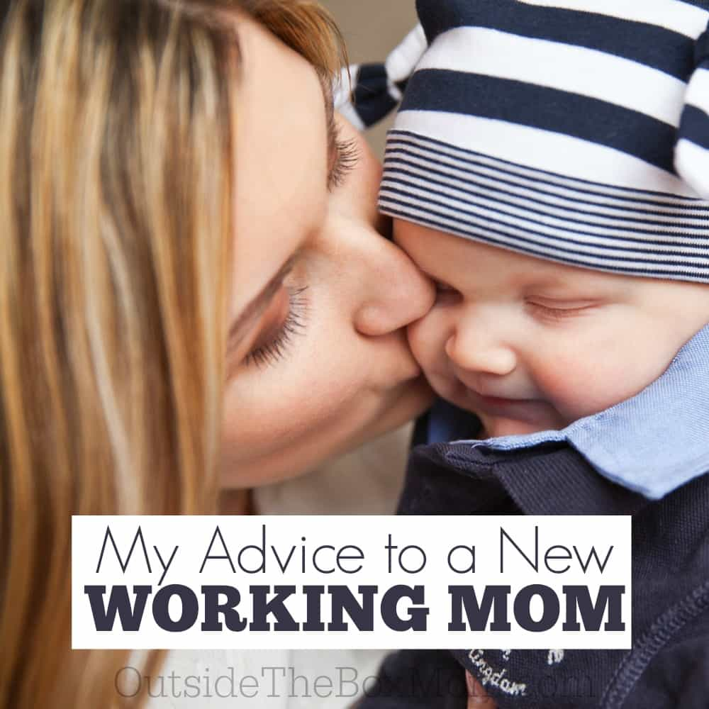My Advice to a New Working Mom: Secrets to Balance