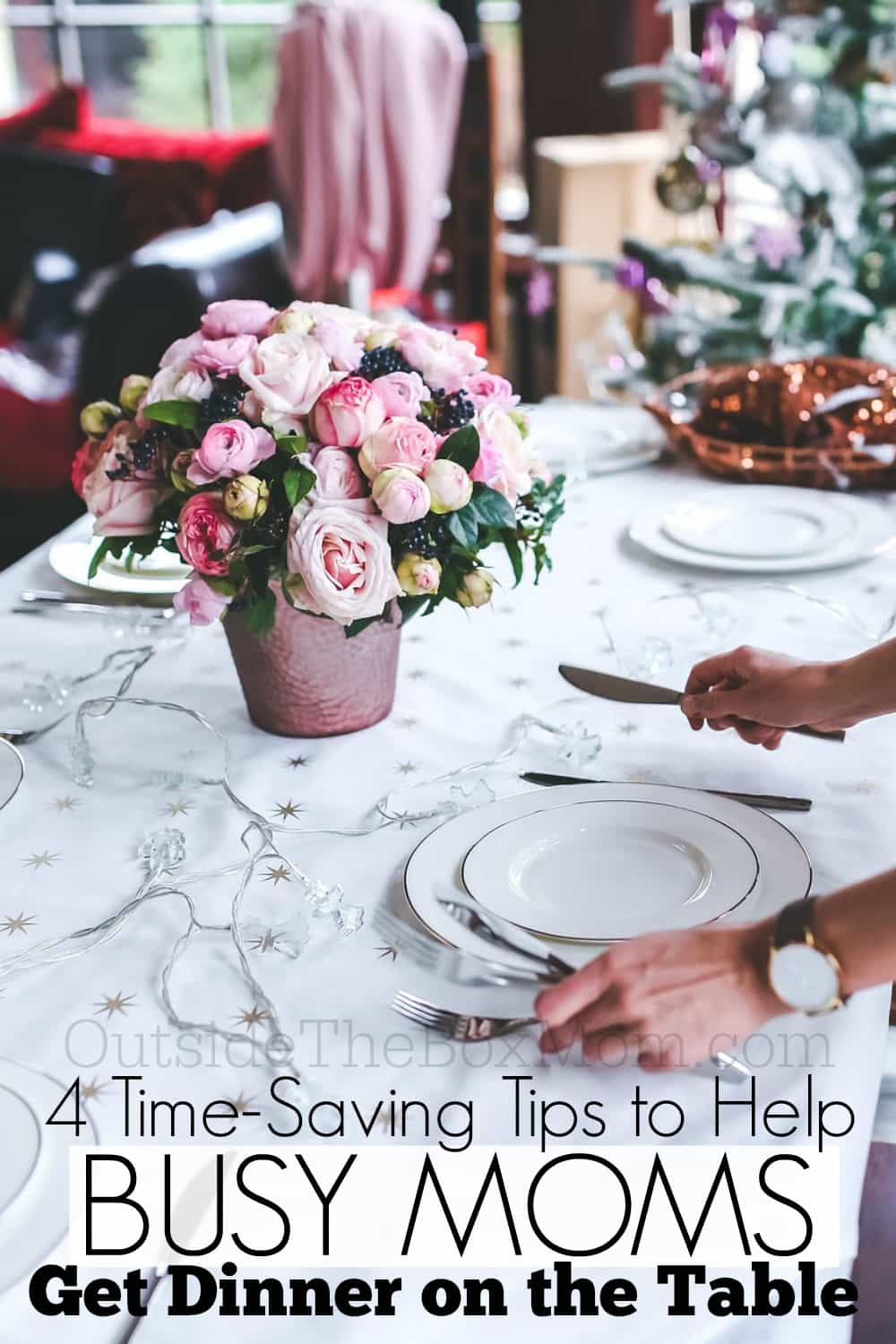 Being a working mom and getting dinner on the table in time can be quite a daunting task. Here are four tips on how a working mom can still get a delicious dinner on the table for her your family, seamlessly.