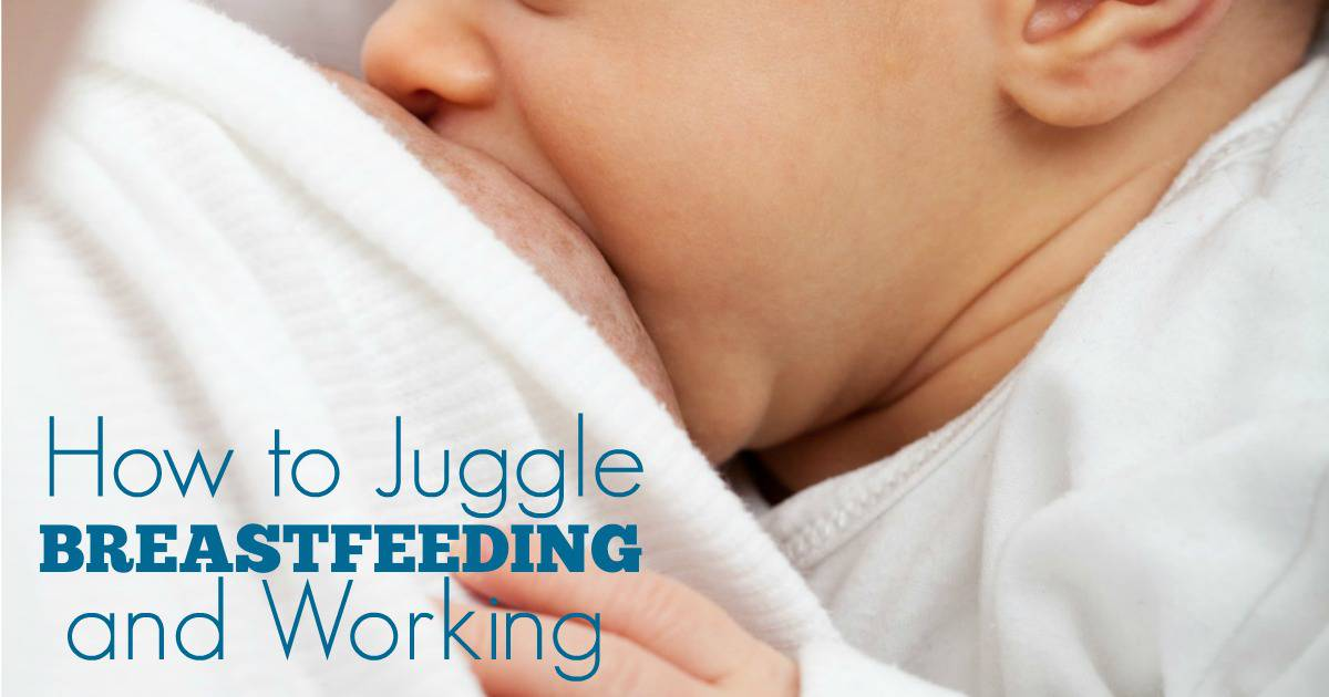 I want to continue breastfeeding my baby once I return to work. I just didn't know if I could do it - pumping, working, breastfeeding while at home. Then, I found this post that tells me exactly how to do it!