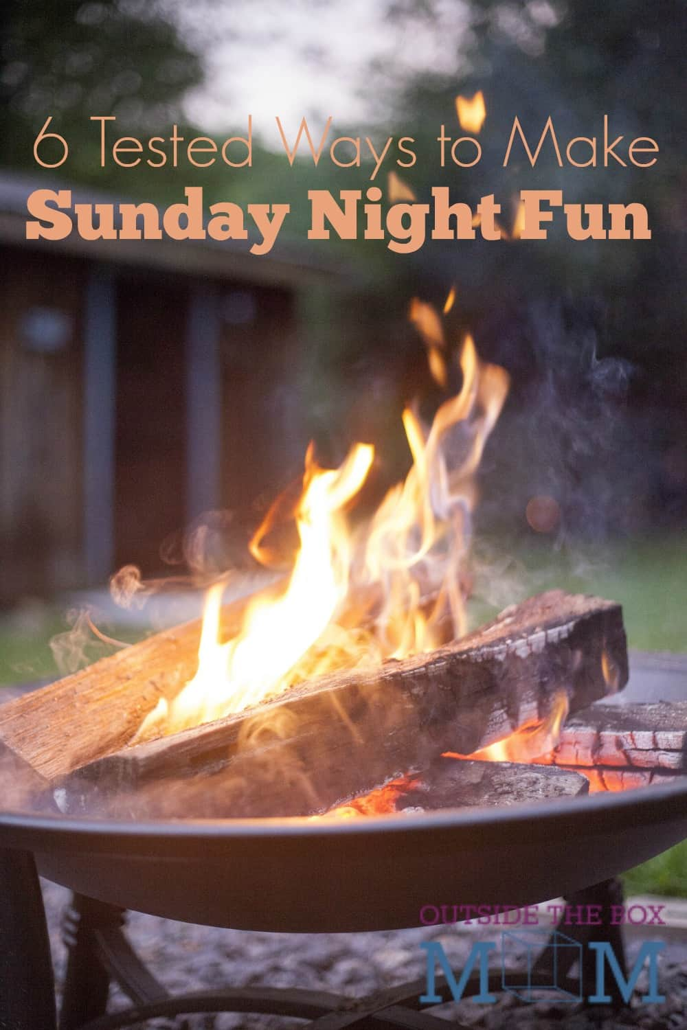 Did you know that Sunday night and fun can go in the same sentence? I've got six easy ways to make it happen!