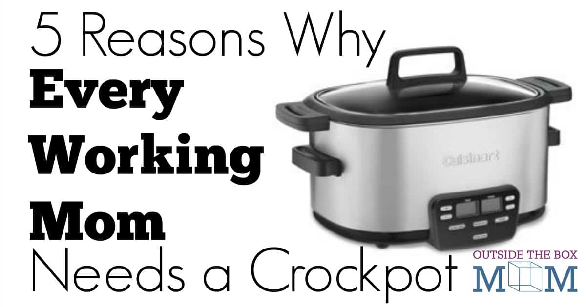 I would love to come home to a home-cooked meal. The only way this happens in my house is if I use my crockpot. After reading this post, I am convinced that all working moms need one!