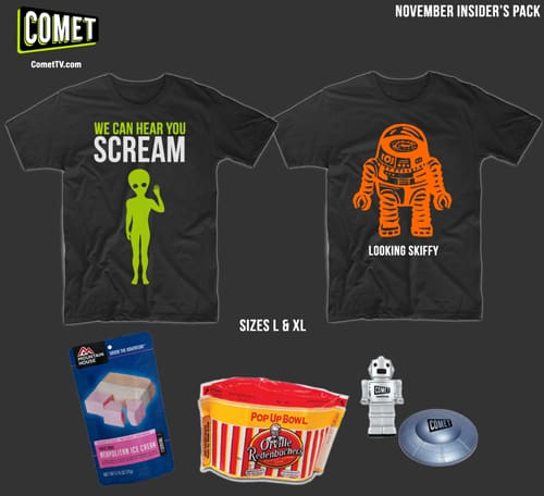 COMET Sci-Fi Channel Swag Bag Giveaway