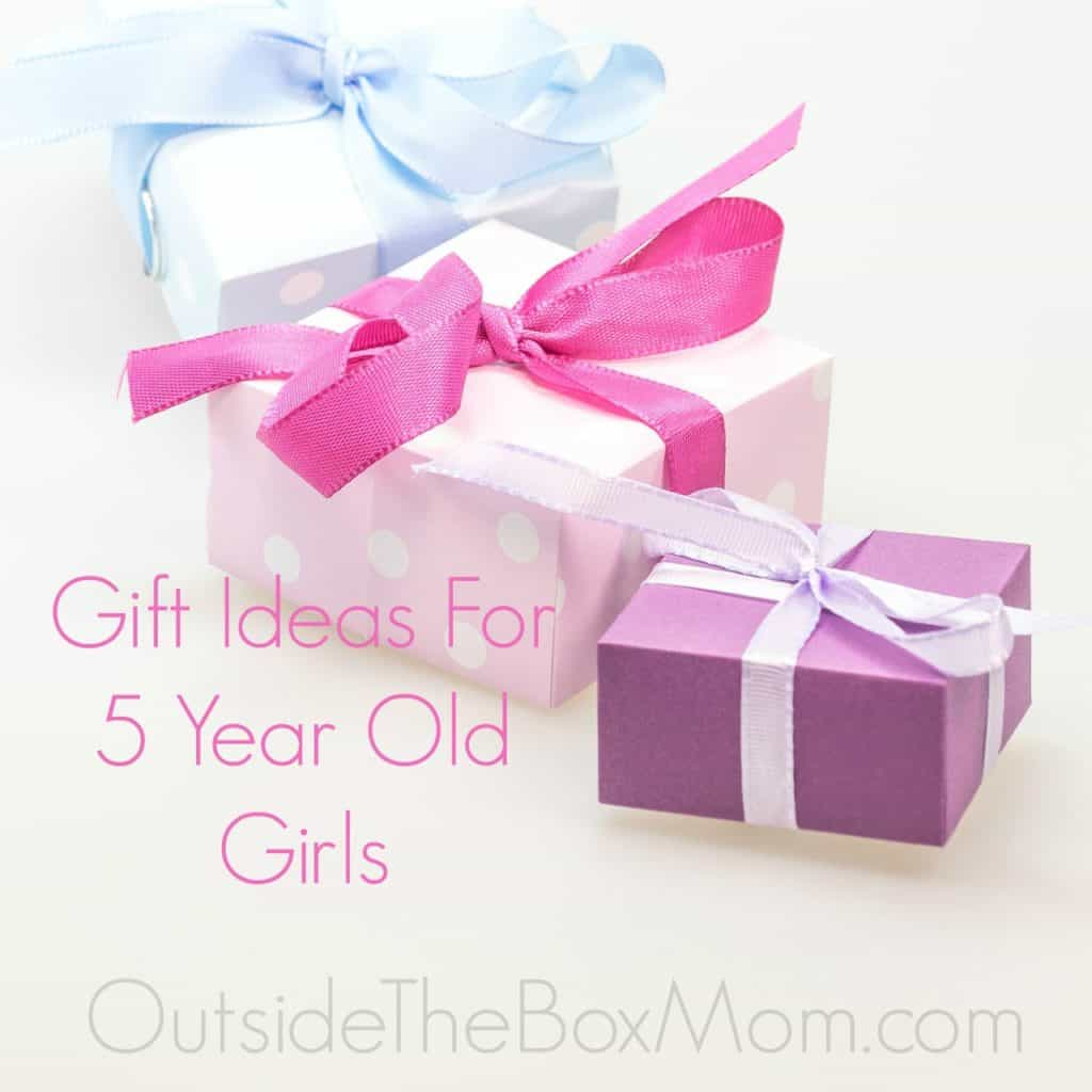Gift Idea For 5 Year Old Girls