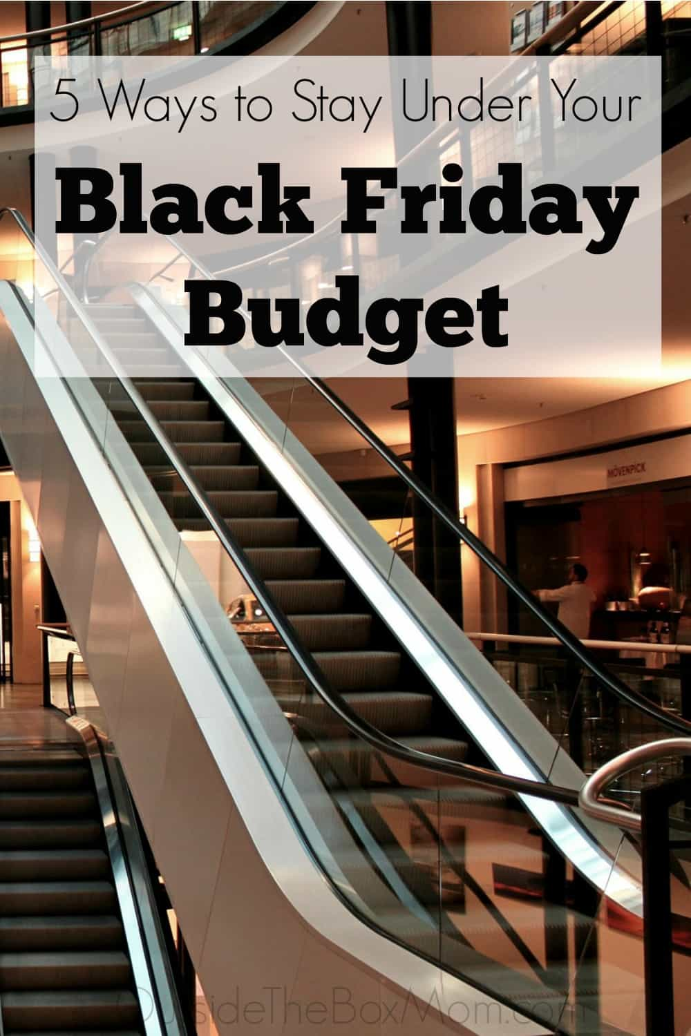 Will you be out shopping for the best deals on Black Friday? These five simple tips will save you time, avoid lots of frustration, and keep you under budget.