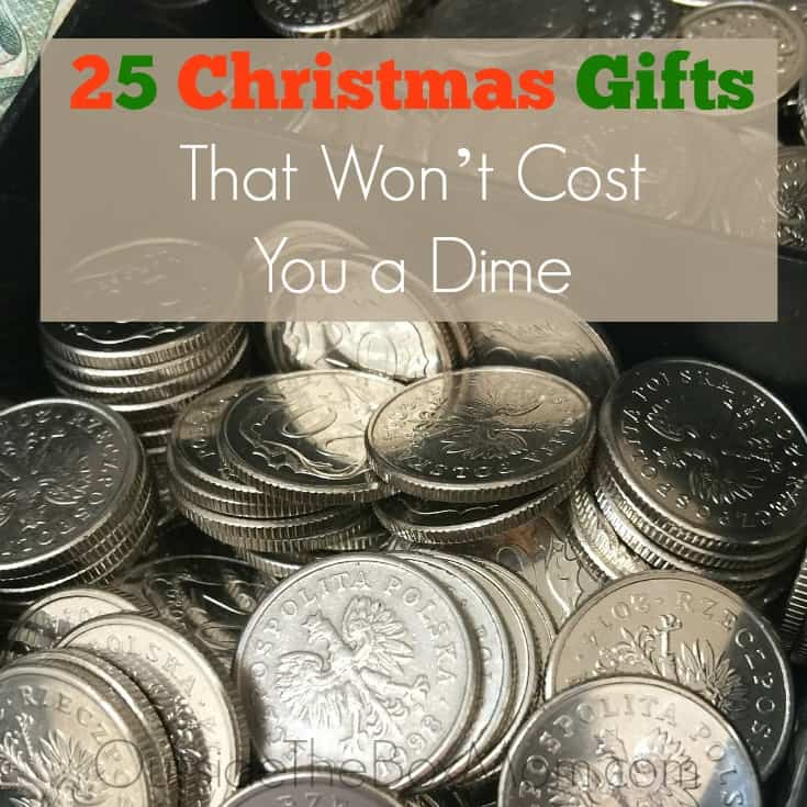Christmas gifts can get expensive. But, you don't have to have a large budget to show your love. In fact, you don't have to spend a dime.