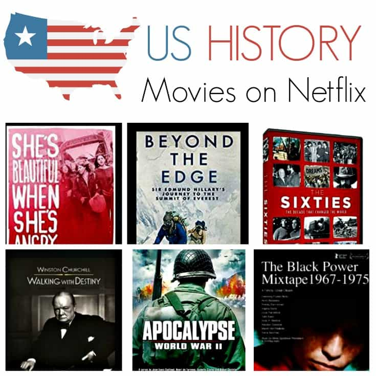 Looking for US History movies on Netflix? There are some great US History titles you can stream on Netflix. These films and TV documentaries are a great learning resource any time of year.