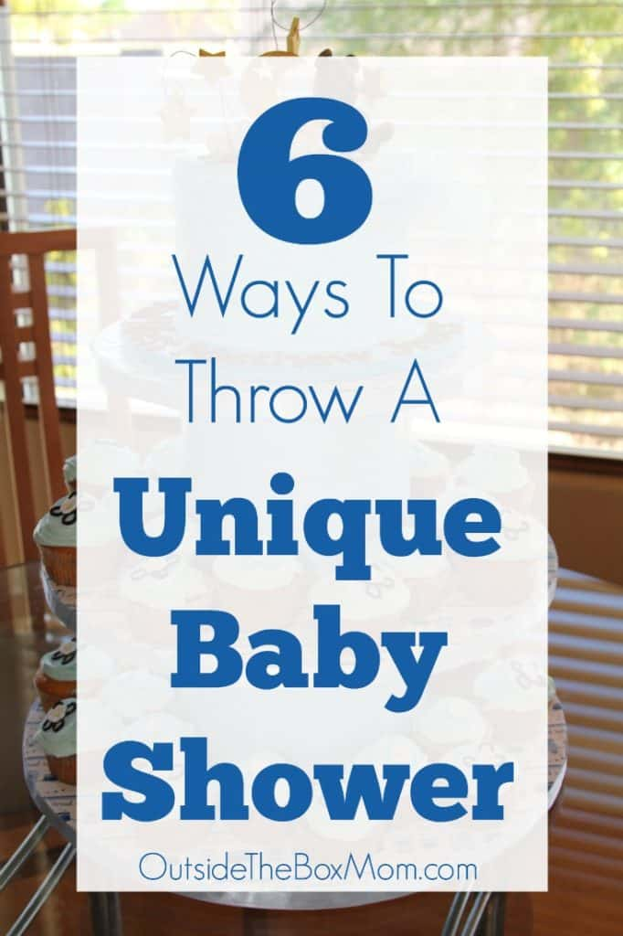 6 Ways To Throw A Unique Baby Shower