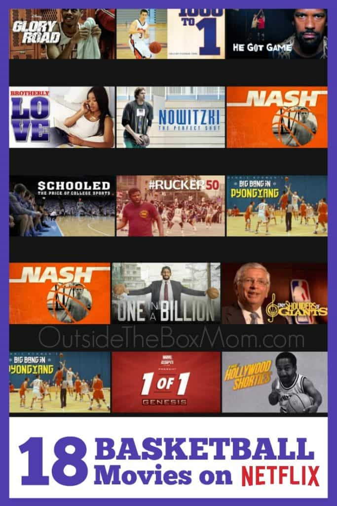 18 Must See Basketball Movies on Netflix