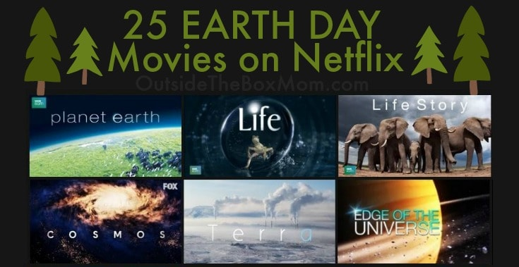 These Earth Day movies on Netflix are great to watch on Earth Day, other environmental observances, or any time of year. These Netflix titles feature non-fiction series, documentaries, behind-the-scenes footage, and more.