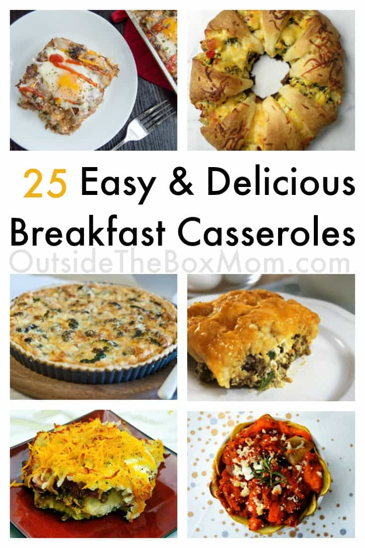 These breakfast casserole recipe idea make serving a healthy and wholesome meal (with or without eggs) to your family super easy! Prep or make ahead to enjoy breakfast WITH your family!