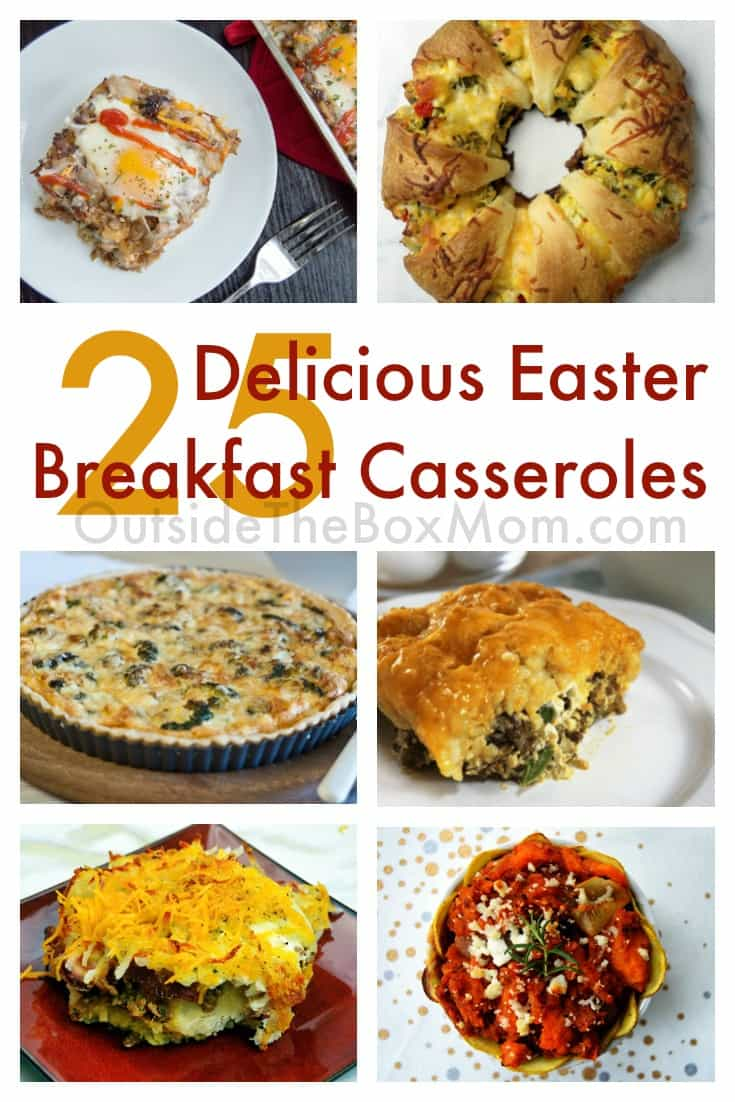 Easter breakfast casseroles make serving a healthy and wholesome breakfast to your family super easy! Prep or make ahead to enjoy breakfast WITH your family!