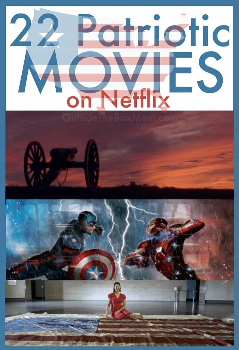 Patriotic movies | Patriotic movies on Netflix | Novies on Netflix | Netflix | Memorial Day movies on Netflix | 4th of July movies on Netflix | Independence Day movies on Netflix
