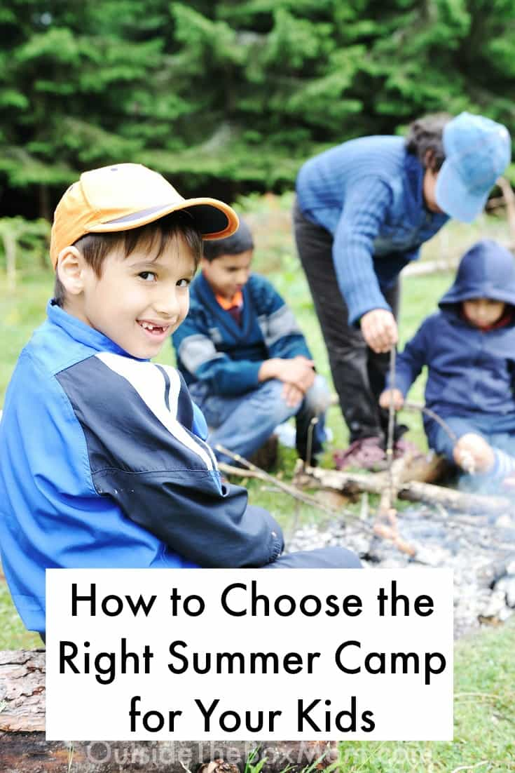 Are you wondering how to choose the right summer camp for your kids? This post will give you a checklist of five things you should consider.
