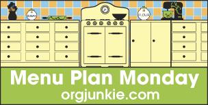 Menu Plan Monday – July 11