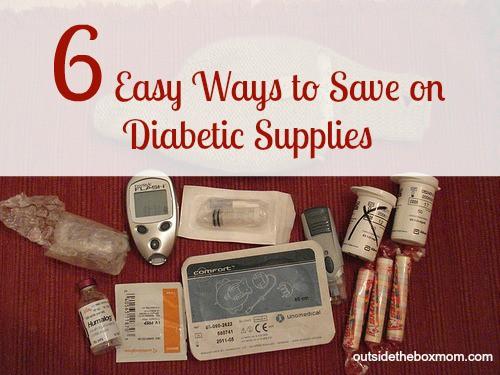 6 Easy Ways to Save on Diabetes Supplies