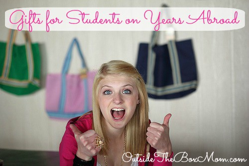 Gifts for Students on Years Abroad