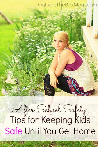 After School Safety: Tips for Keeping Kids Safe Until You Get Home