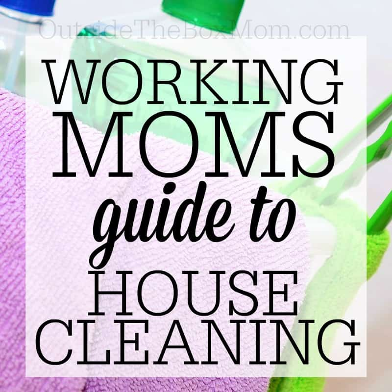 Help for Working Moms to Get Your House & Schedule Clean and Organized