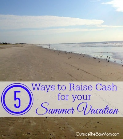5 Ways to Raise Cash for Your Summer Vacation