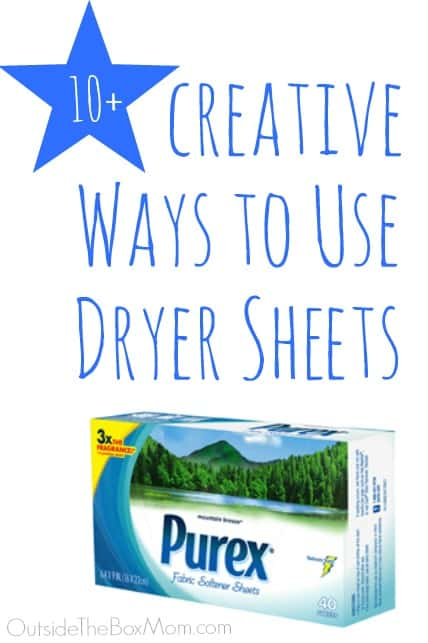 Ways to Use Dryer Sheets You May Have Never Thought Of
