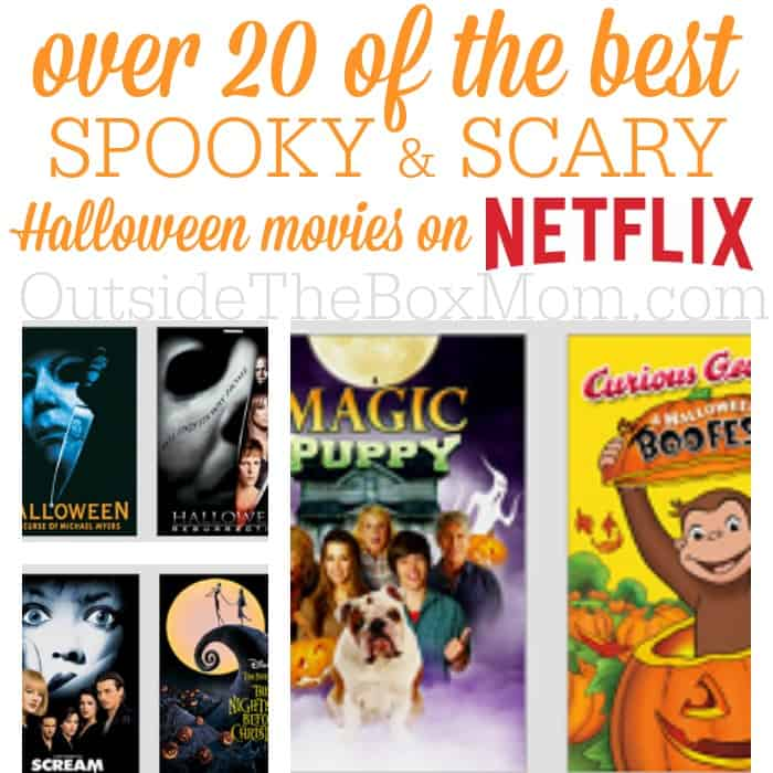 no matter your plans for halloween thereu0027s something on netflix for you kiddies at
