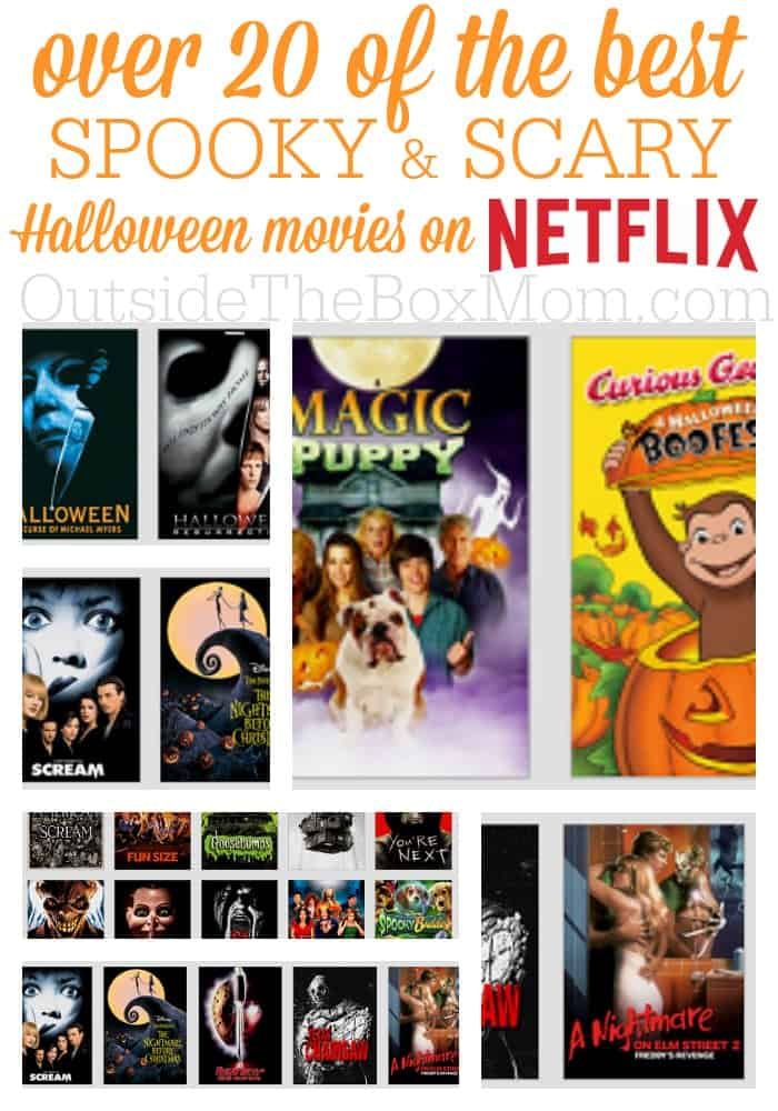 No matter your plans for Halloween, there's something on Netflix for you. Kiddies at home? Check out one of my G, Y, Y-7, or PG-13 picks (depending on your kids' ages and your discretion). If the kids are out and about and you're looking for a fun way to snuggle up with your honey, check out of my R, NR, or unrated picks tonight.