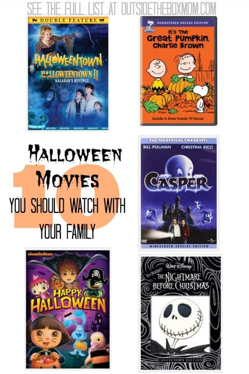 10 Halloween Movies You Should Watch With Your Family