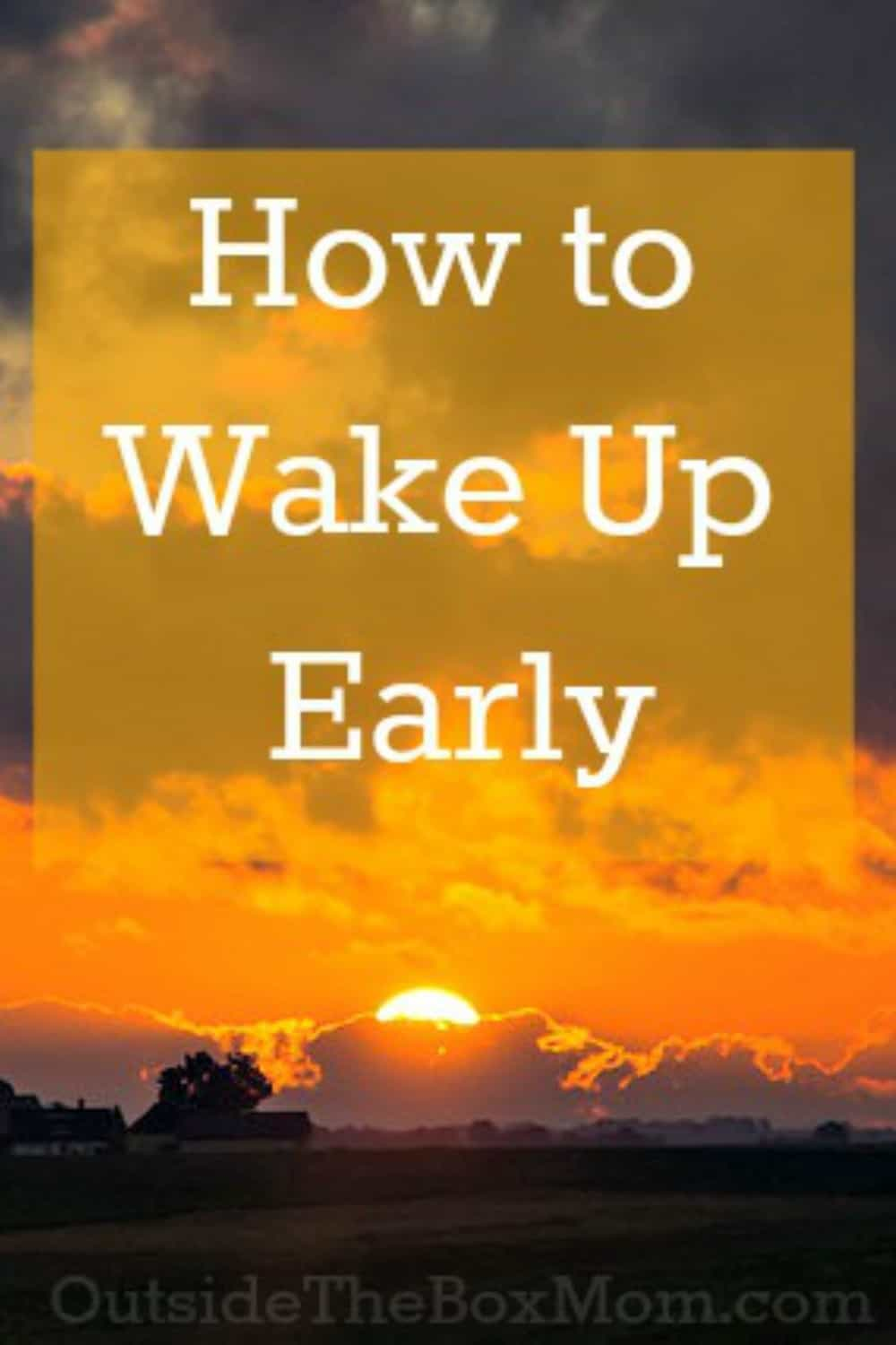 Many don't know how waking up early can jump start your day, help you get more done, and give you a sense of accomplishment. This is Day 1 of our31 Ways to Get More Doneseries. To read all the posts in order,visit theintroduction postto see the outline for the whole series. Waking up earlier is …