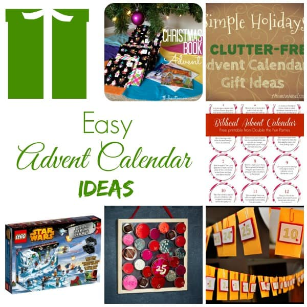 Calendar Square Ideas : Easy advent calendar ideas working mom outside