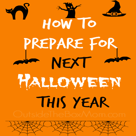 How to Prepare for Next Halloween This Year