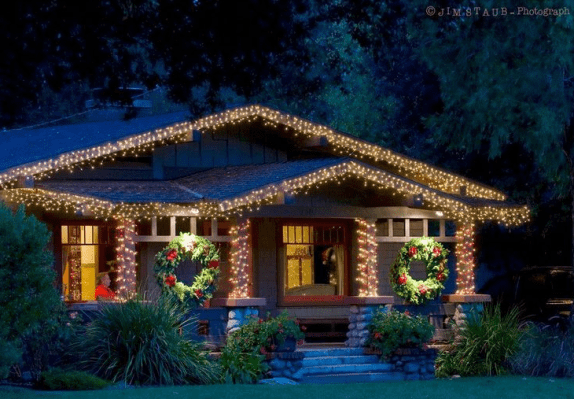 Outside Christmas Decorations Ideas