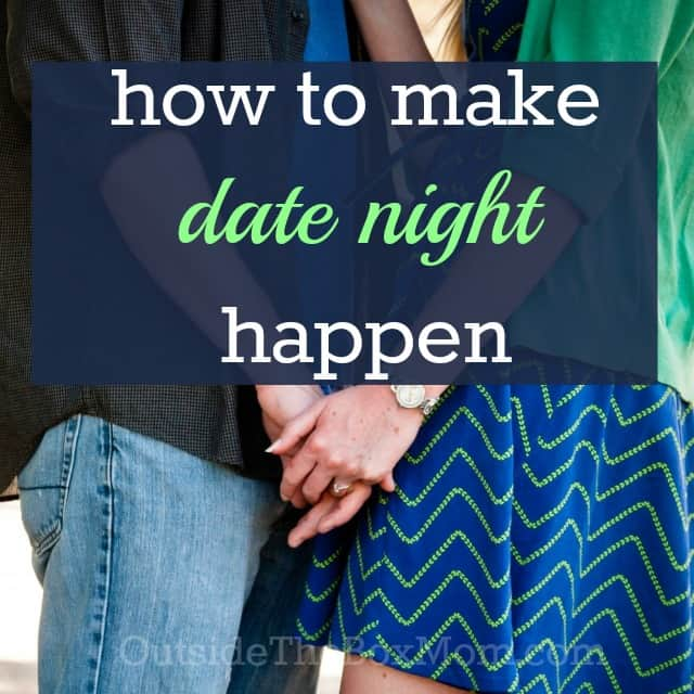 Marriage Advice: How to Make Date Night Happen