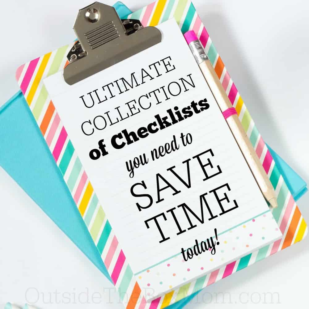 The Ultimate Collection of Checklists You Need To Save Time
