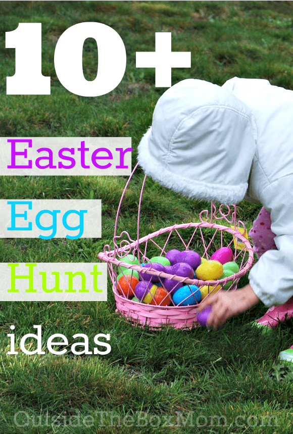 10 Easter Egg Hunt Ideas Working Mom Blog Outside The Box Mom