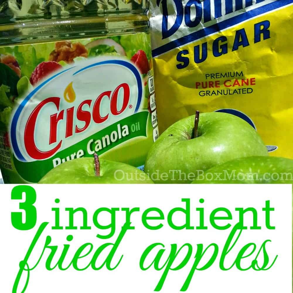 Thrifty Recipe: Fried Apples