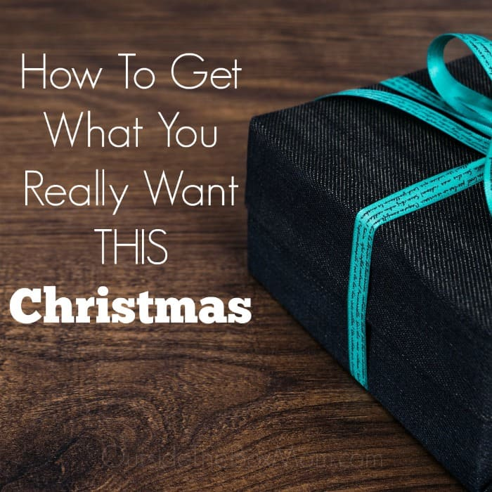 There will be many moms who will not receive a gift they want this Christmas because they won't ask for one. What if all she had to do was ask?