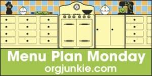 Menu Plan Monday – September 26