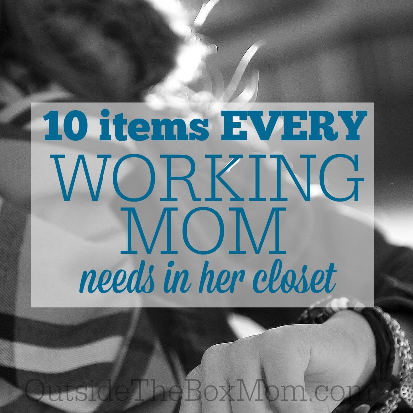 10 Items Every Working Mom Needs in Her Closet