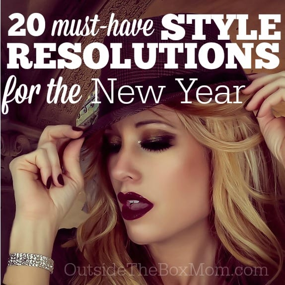 Style Resolutions for the New Year
