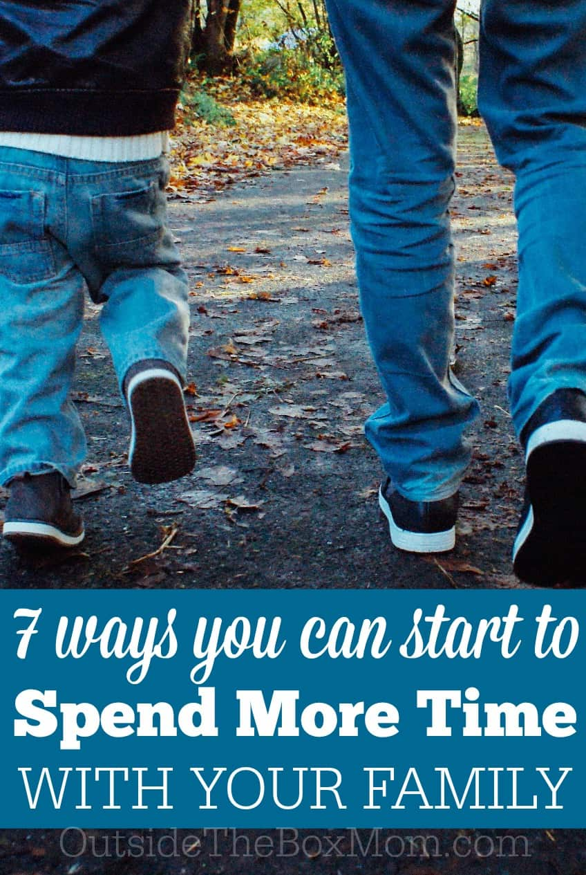 Spending time together as a family takes planning, but it's a great investment. Planning doesn't have to be complicated. Make sure to involve your kids in the process. You'll be surprised at their suggestions! Here are seven things my family want to do more of this year.