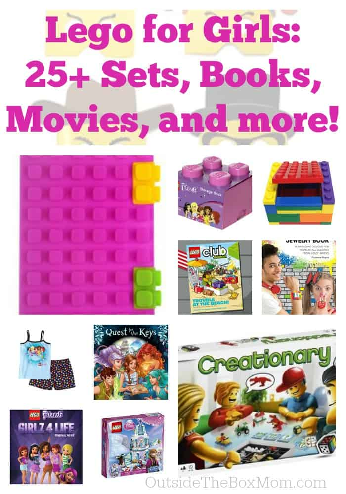 Lego for Girls: 25+ Sets, Book, and Movies