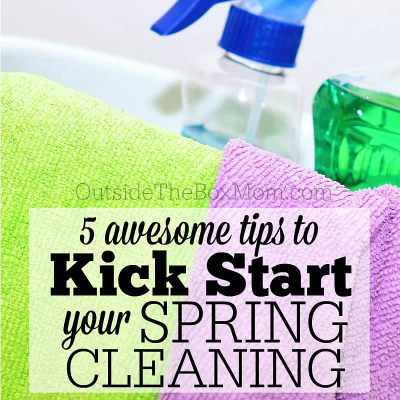5 Tips to Kick Start Your Spring Cleaning