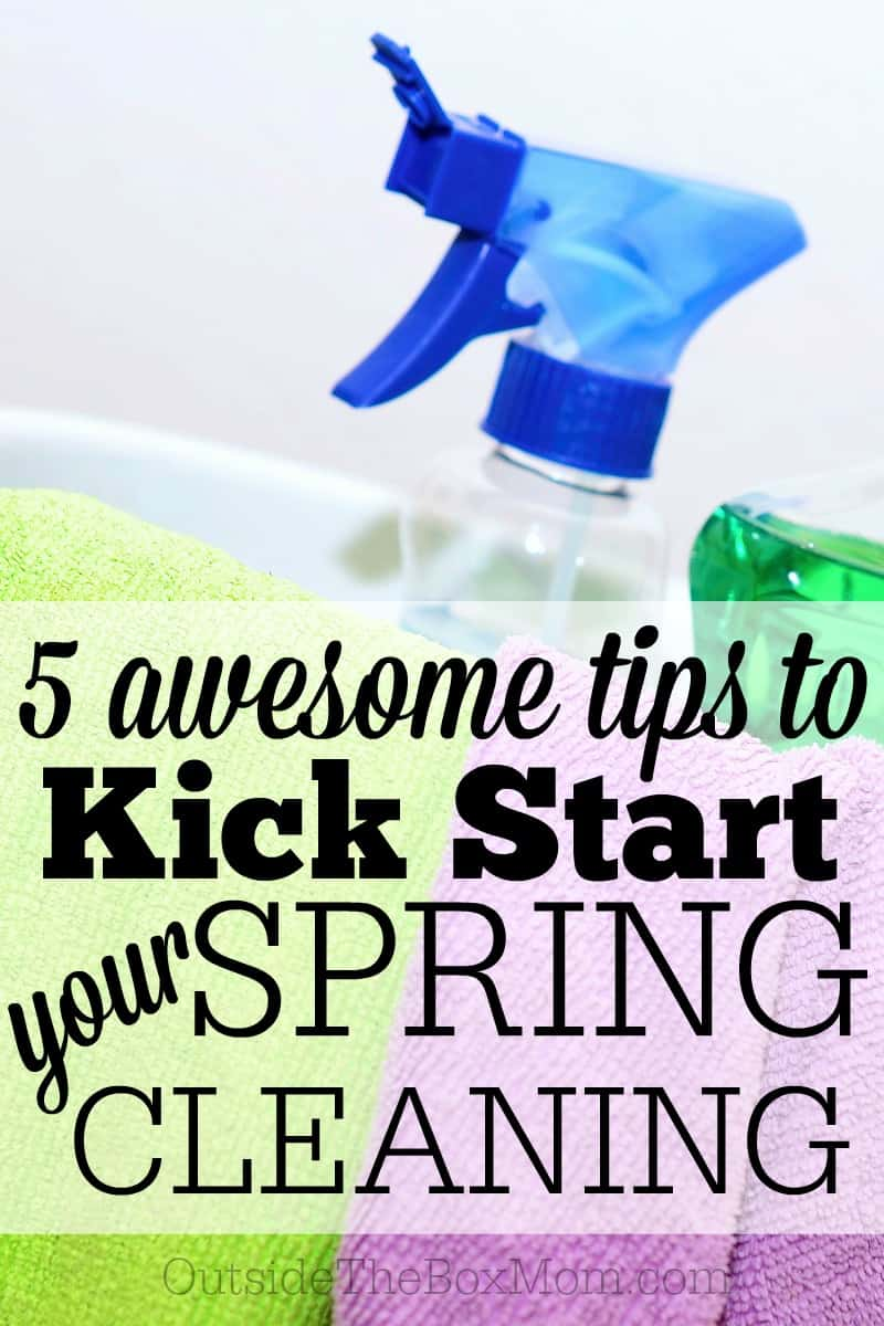 "Spring cleaning is ""a thorough cleaning of a house or room, typically undertaken in spring."" I'm sharing my five favorite and most useful spring cleaning and redecorating hacks."