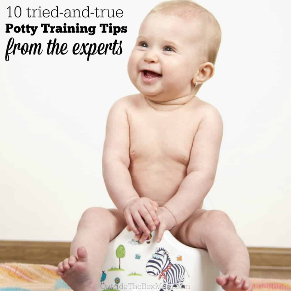 10 Tried and True Potty Training Tips from Experts