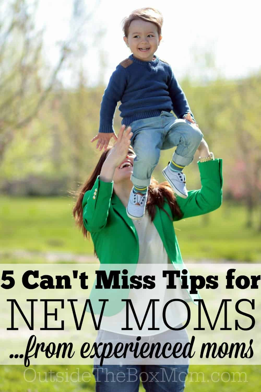 Are you a new mom who wishes your baby came with a manual? I'm here to share five tips this experienced mom would give myself as a new mom.