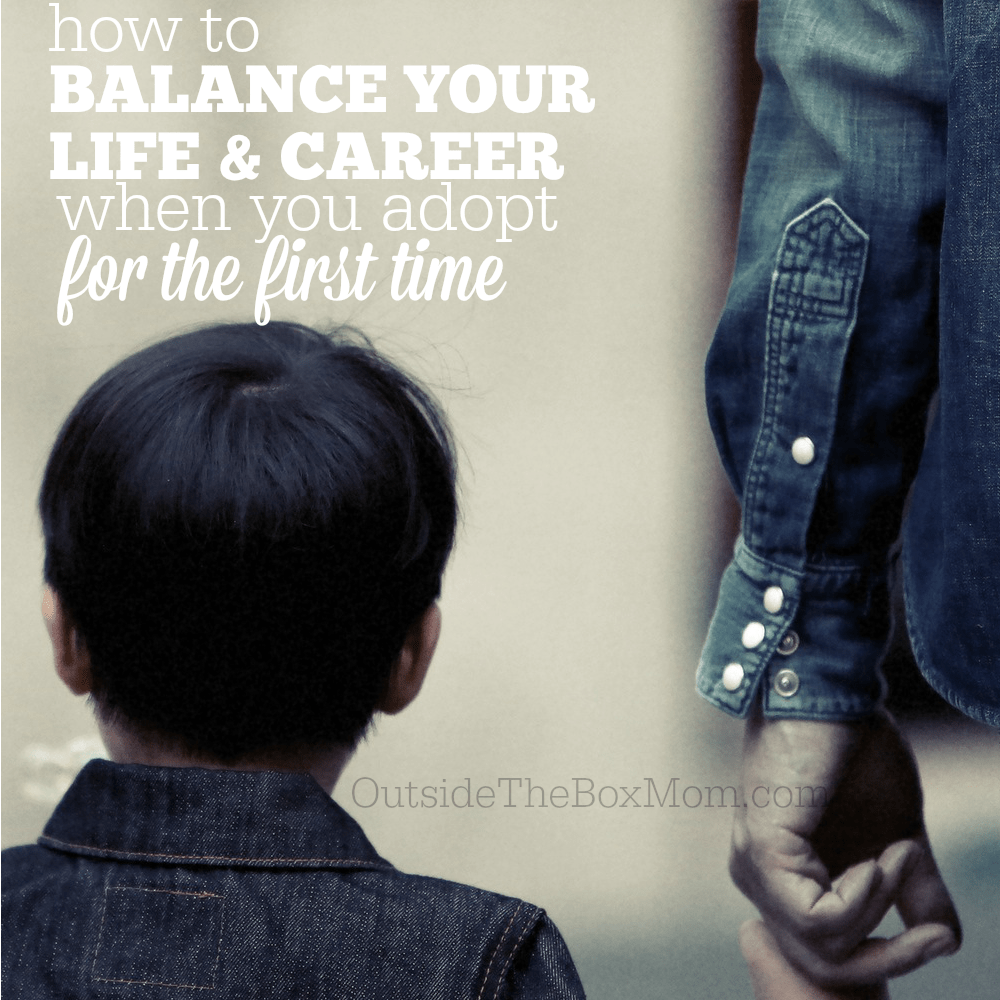 How to Balance Your Career When You Adopt for the First Time